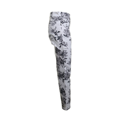 Floral Pull On Jeggings