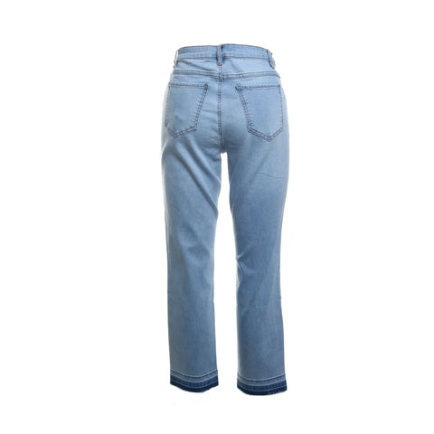 Released Hem Denim Capris