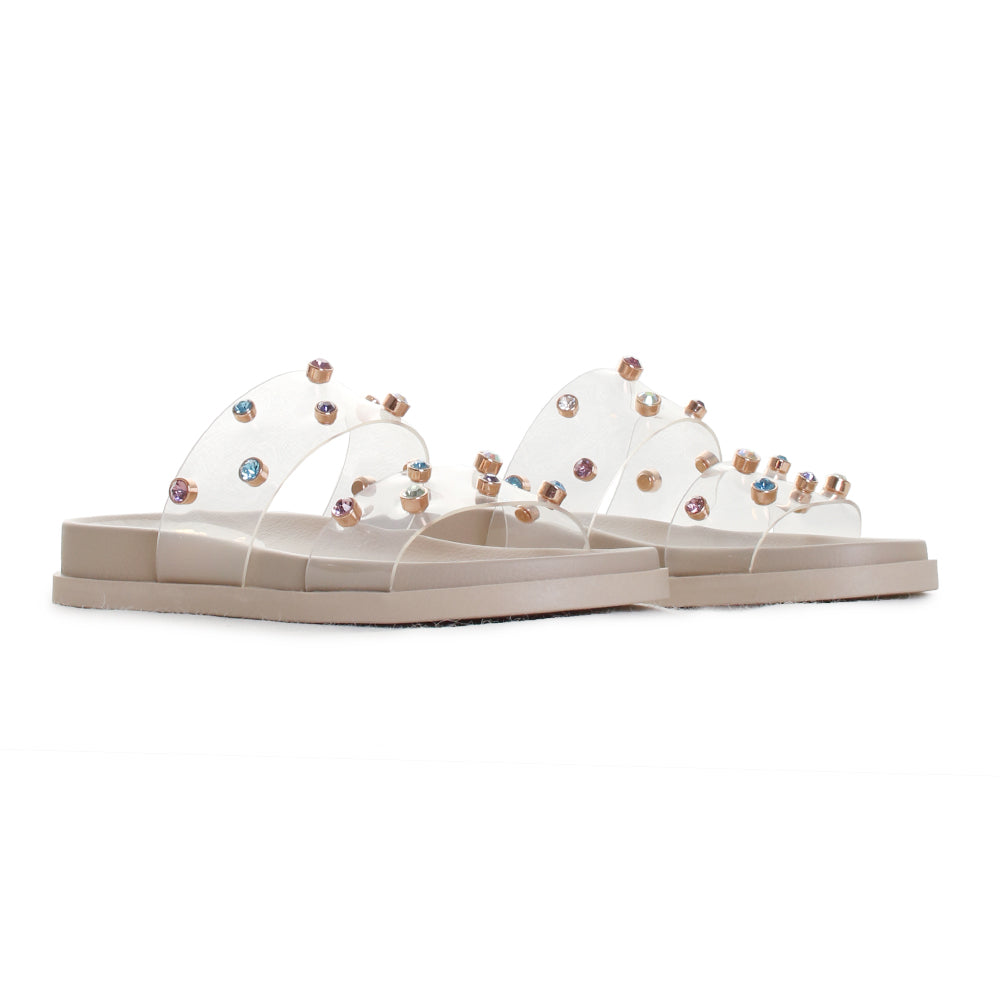 Partha Jeweled Flatform Slide