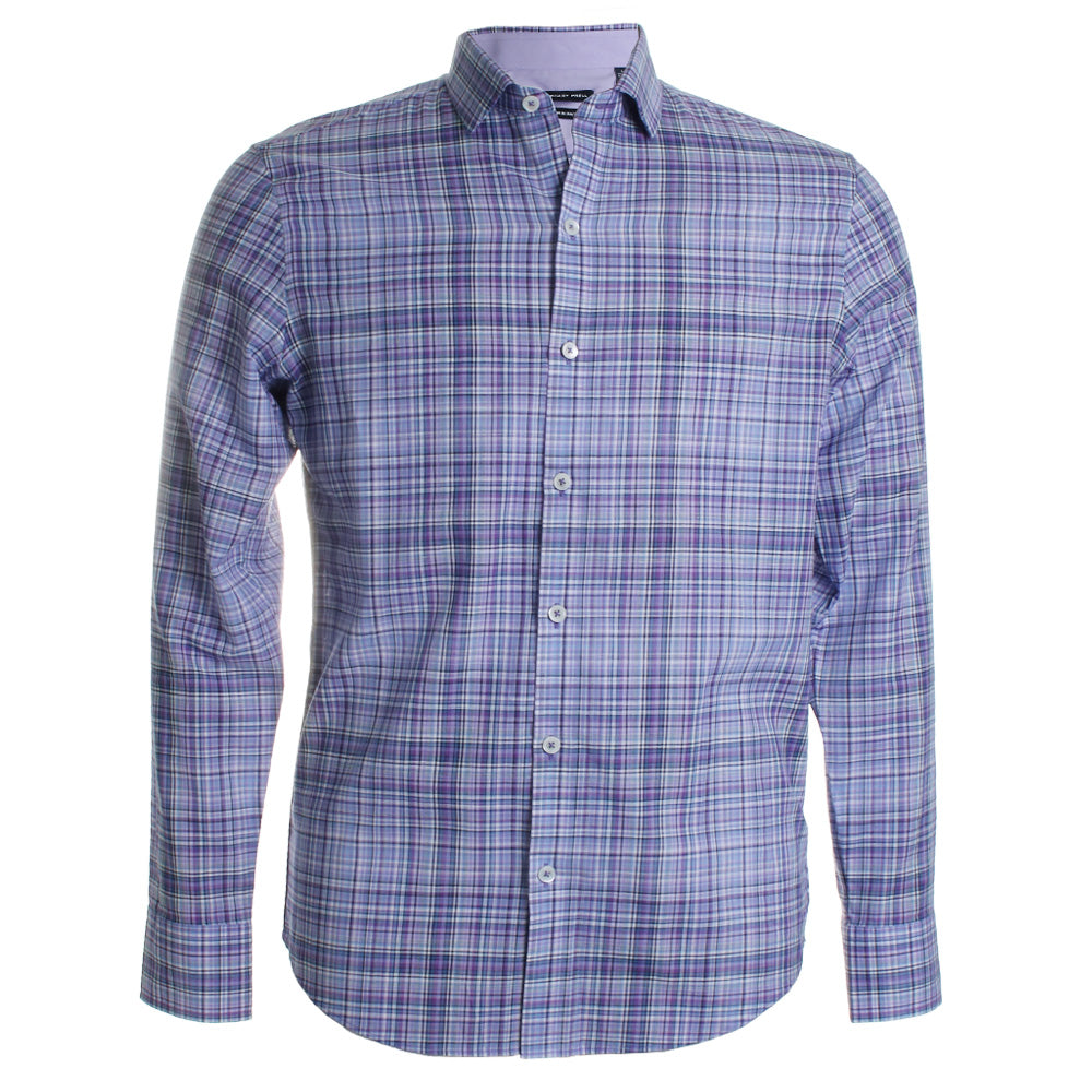 Giammanco Cotton Plaid Shirt