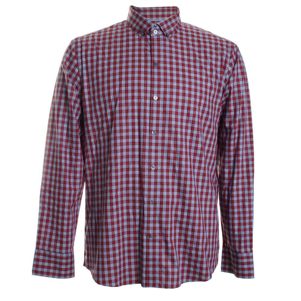 Lee Plaid Button Front Shirt