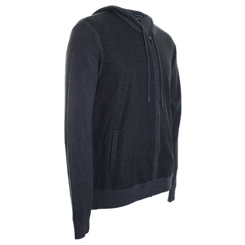 McGraw Ribbed Zip Up Hoodie
