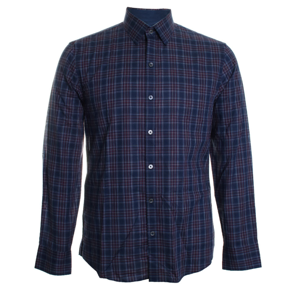 Rief Plaid Button Down Shirt