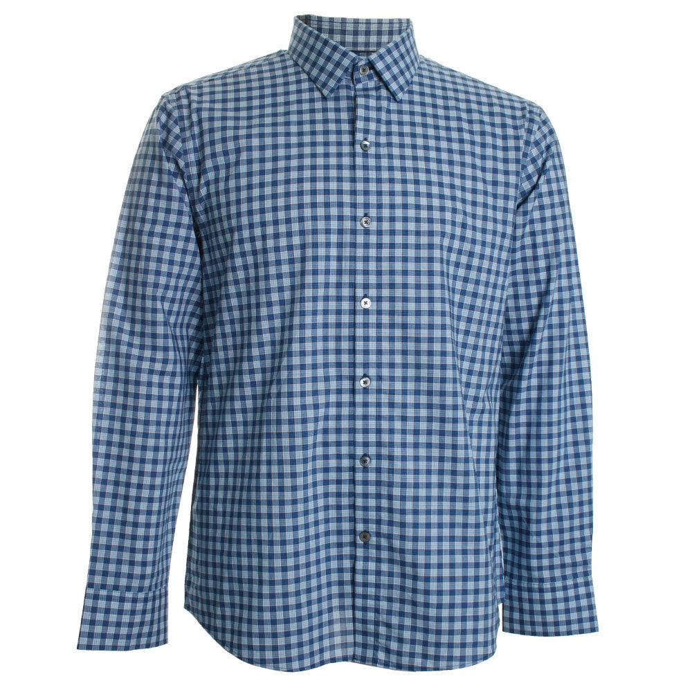 Vandeveere Plaid Button Down Shirt