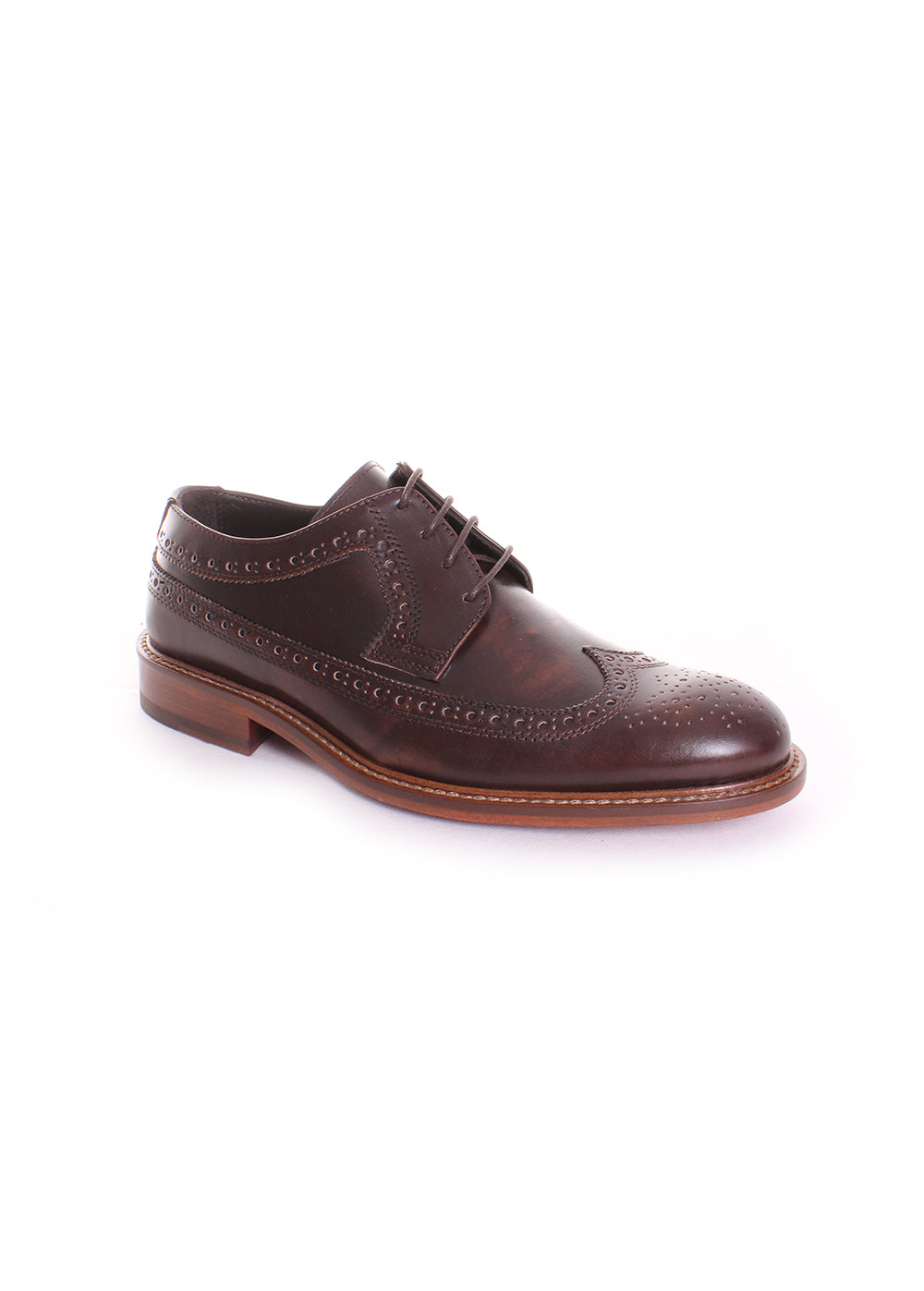 Bugatchi Sorrento Derby Oxford in Testa Di Moro Brown