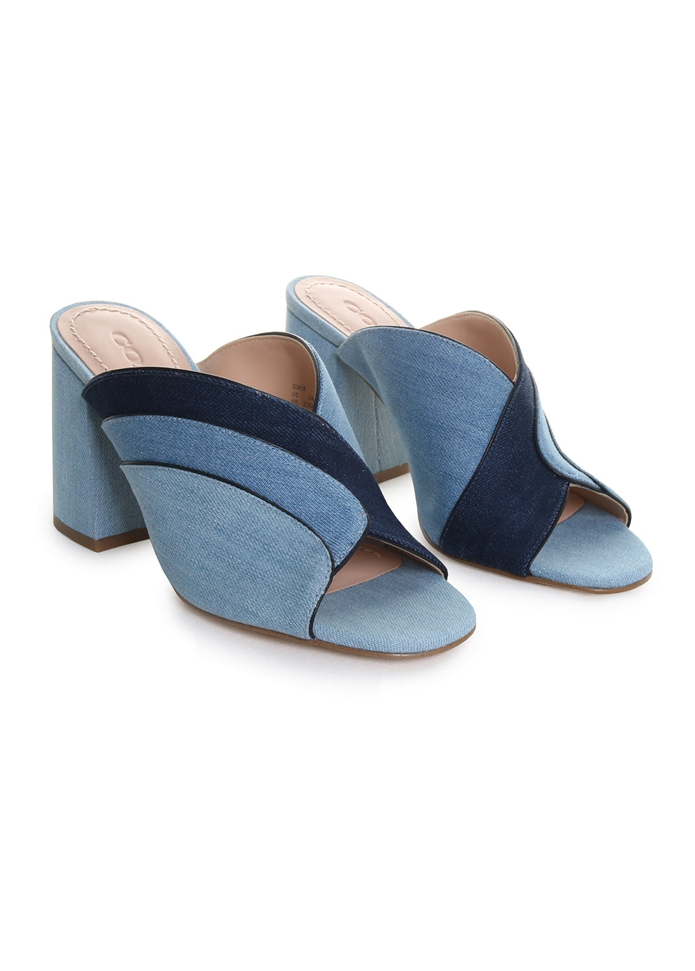 Bria Mule in Denim Multi