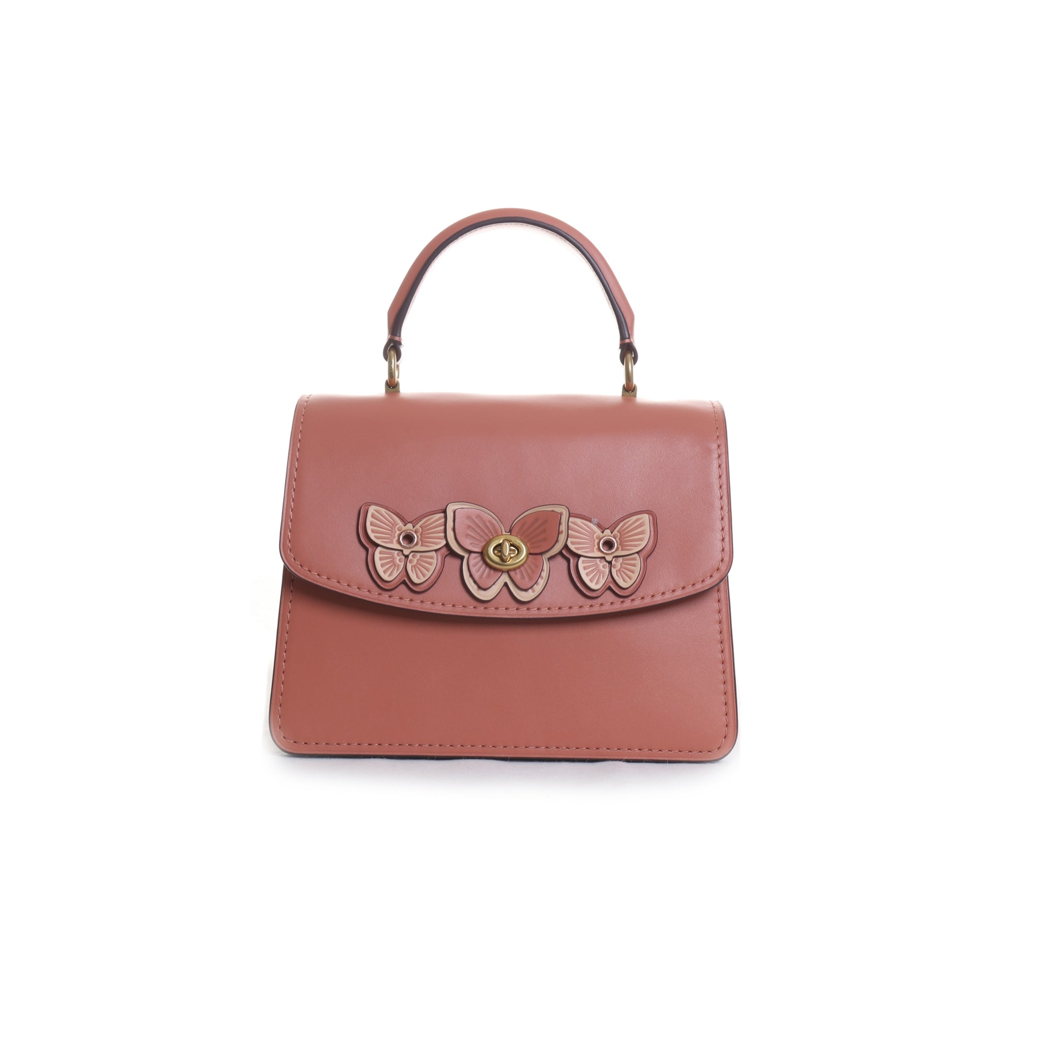 Parker Butterfly Applique Handbag