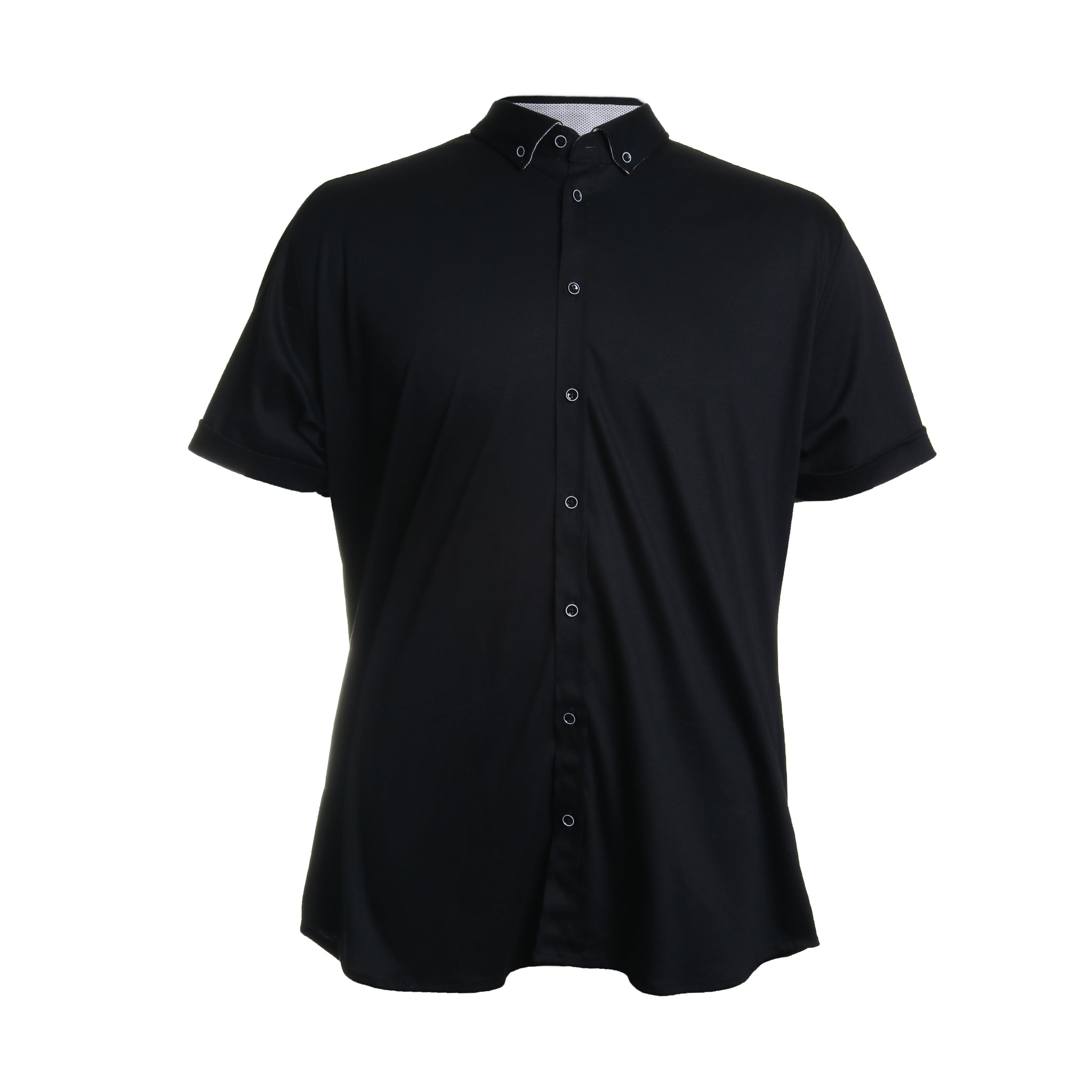 Short Sleeve Cotton Button Down Shirt