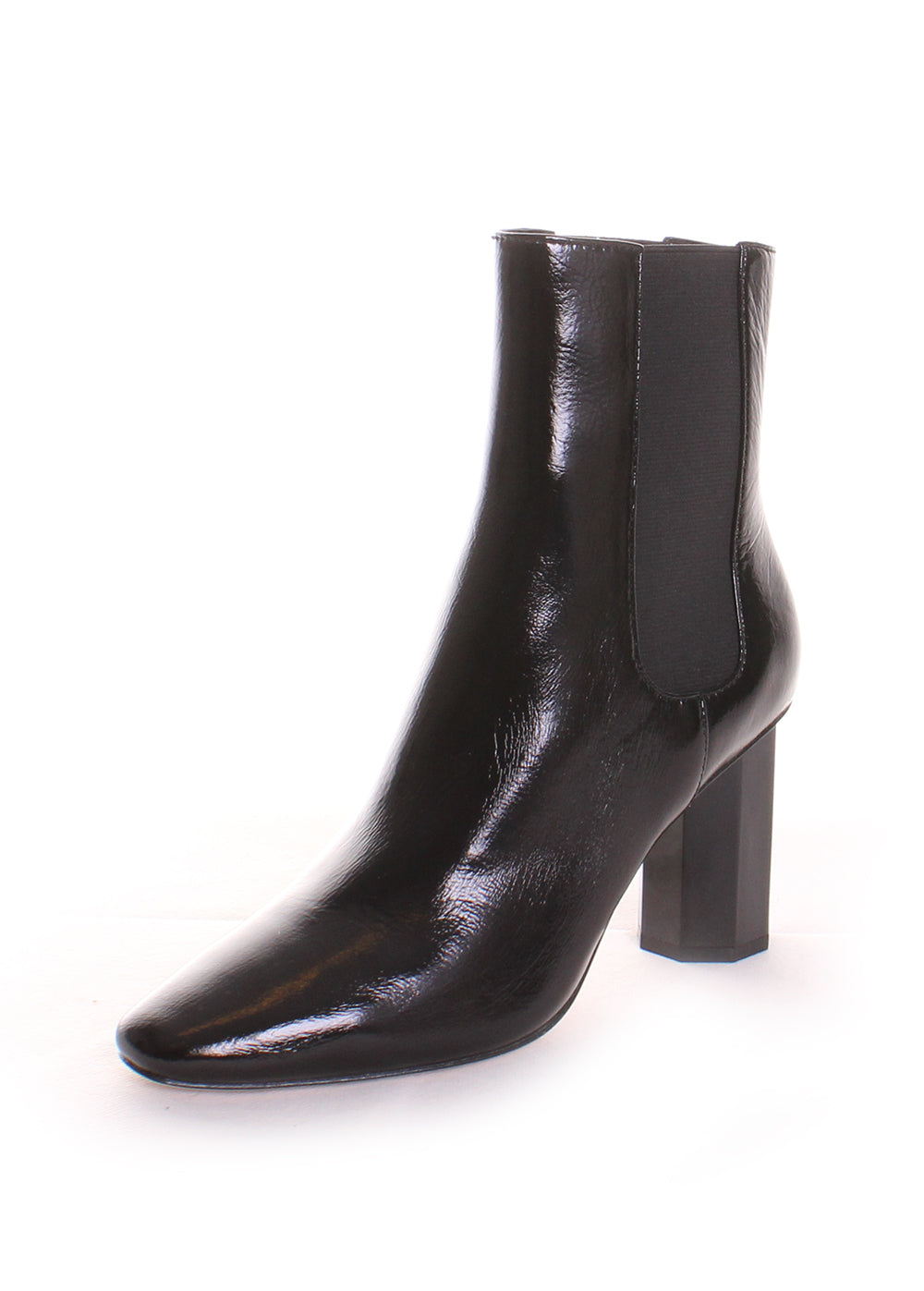 Laila Patent Leather Booties