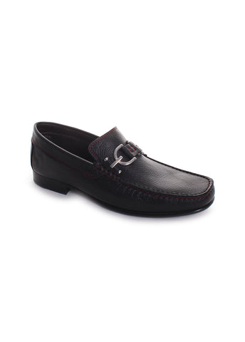 Dacio Leather Bit Loafers