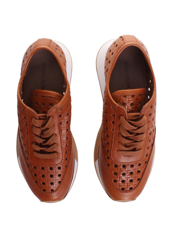 Prit Siena Woven Leather Fashion Sneaker