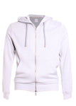 Eleventy Hoodie in Light Grey