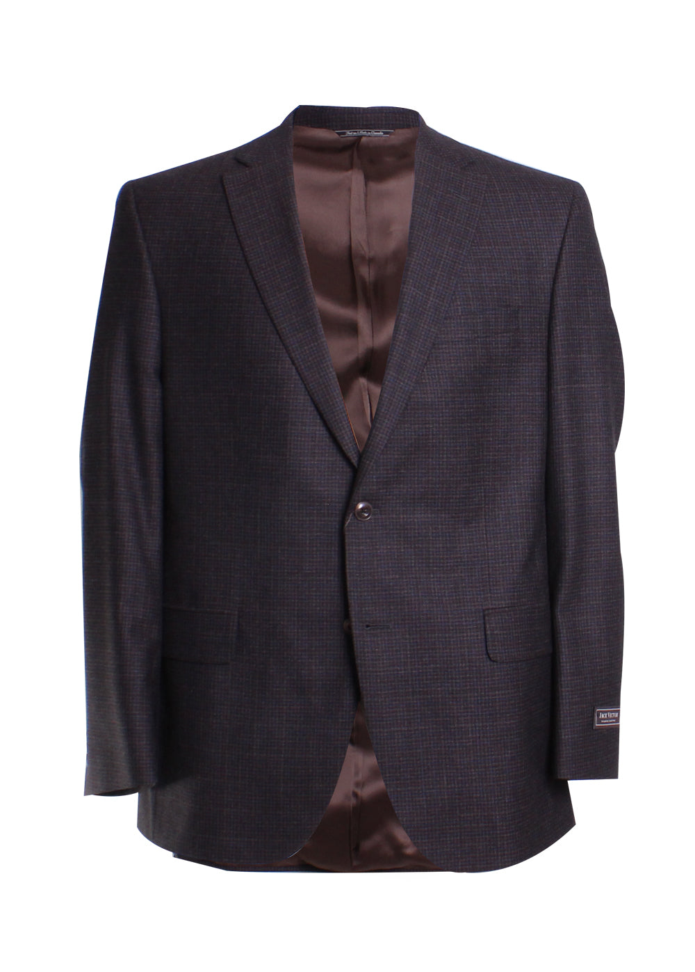 Plaid Blazer Sportcoat in Brown