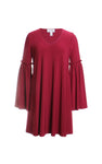Joseph Ribkoff Tunic Dress in Cranberry