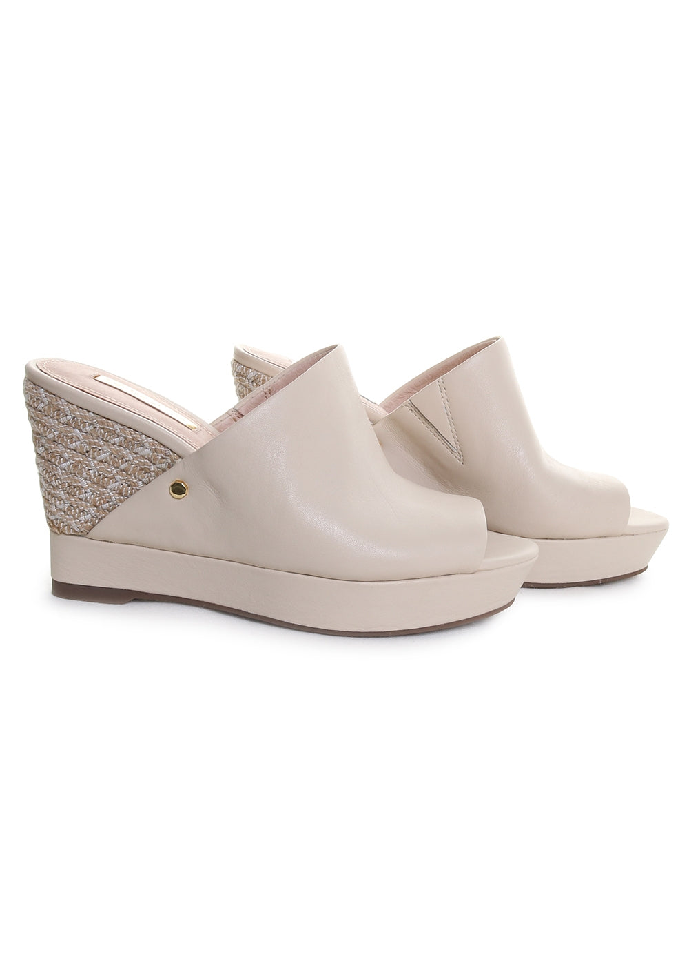 Louise Et Cie Ramsaye Wedge in Porcelain