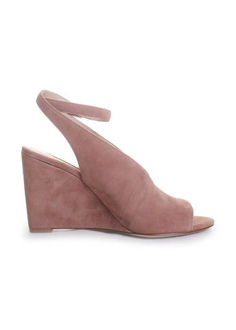 Piarissa Suede Open Toe Wedges