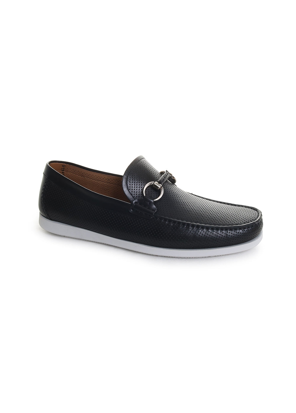Beasley Perforated Moc Toe Bit Loafers
