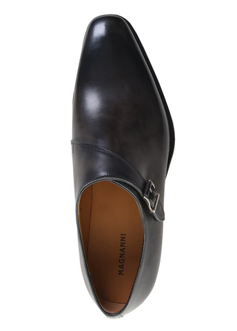 Hermosa Leather Monk Strap Shoes