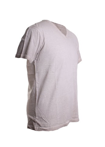Marcello Men's Oil Stained Tee Shirt in Wheat