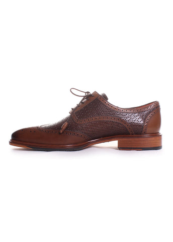 Haydn Calfskin Leather Oxfords