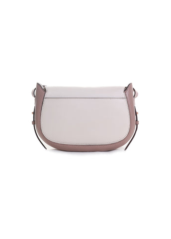 Jolene Leather Small Saddle Bag
