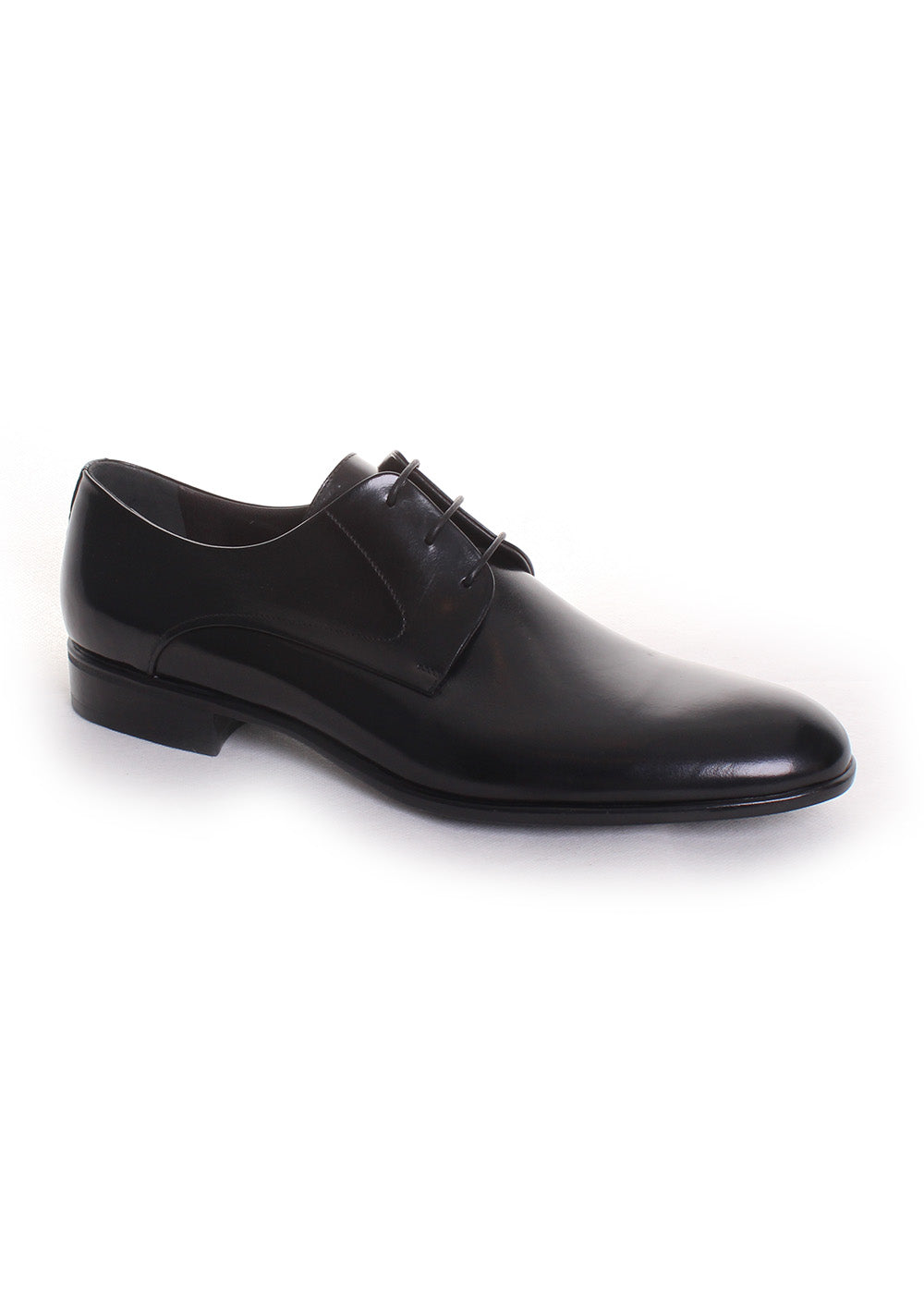 Moreschi 'Liverpool' Derby Shoe in Black