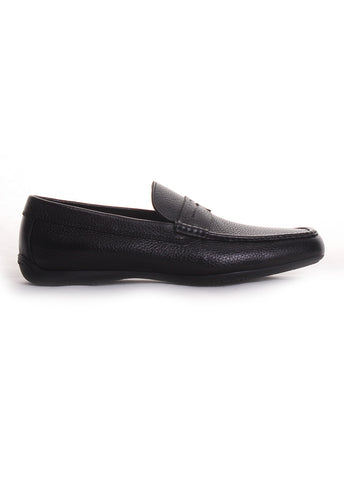 Moreschi 'Panama' Loafers in Black