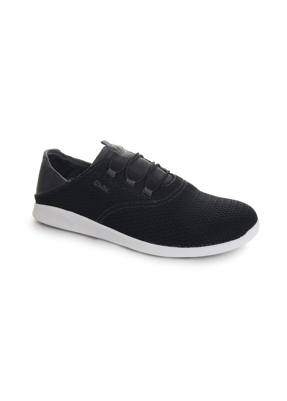 OluKai Alapa Li SlipOn Sneaker in Black Dark Shadow