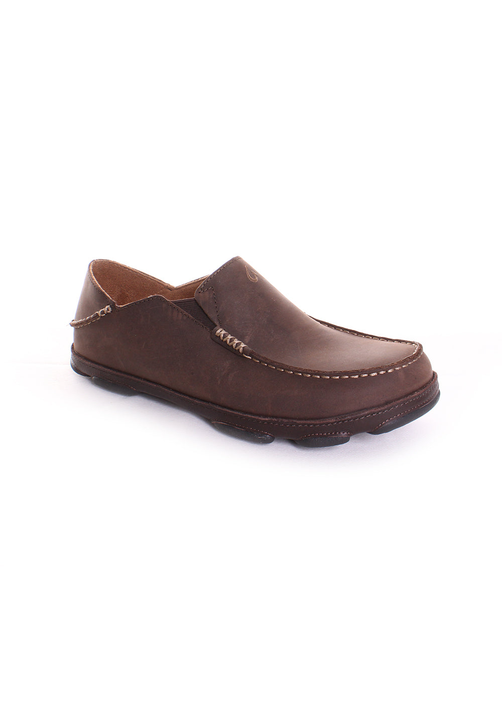 OluKai Moloa Men's Shoe in Dark Wood/Dark Java