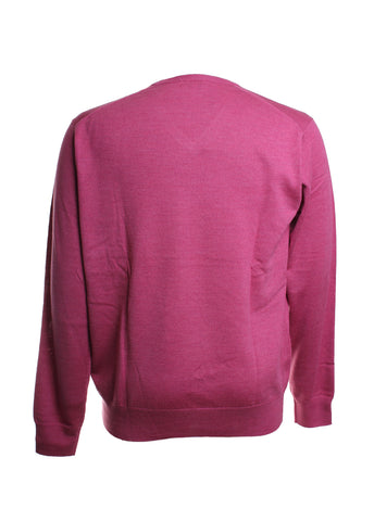 Crown Soft Wool V Neck Knit Sweater