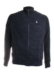 Psycho Bunny Bedford Track Jacket in Heather Navy