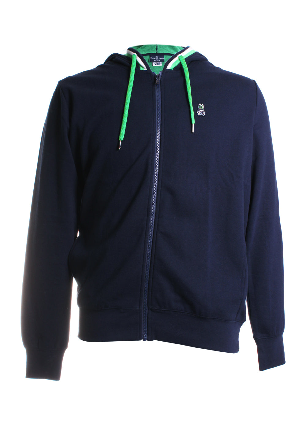 Psycho Bunny Holcombe Hoodie in Navy