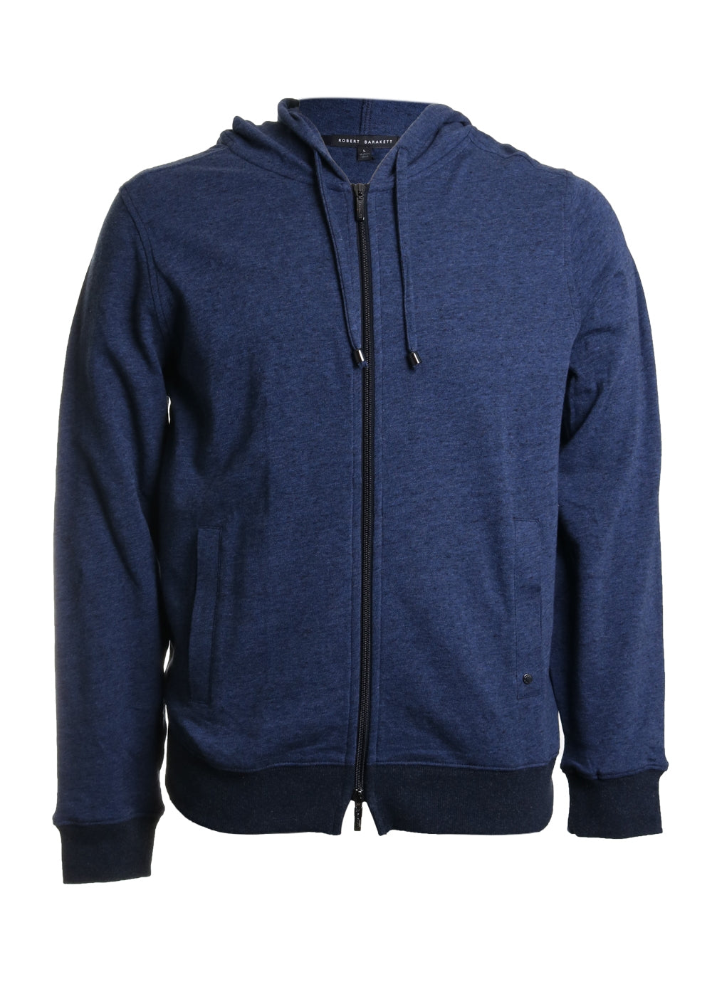 Marshall Cotton Hooded Full Zip Sweater