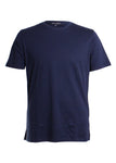 Robert Barakett Georgia Crew Neck T-Shirt in Blue Night