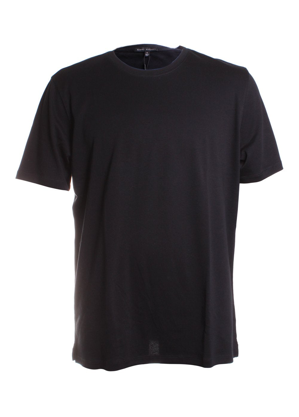Robert Barakett Georgia Crew Neck T-Shirt in Black