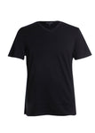 Robert Barakett Georgia V-Neck T-Shirt in Black