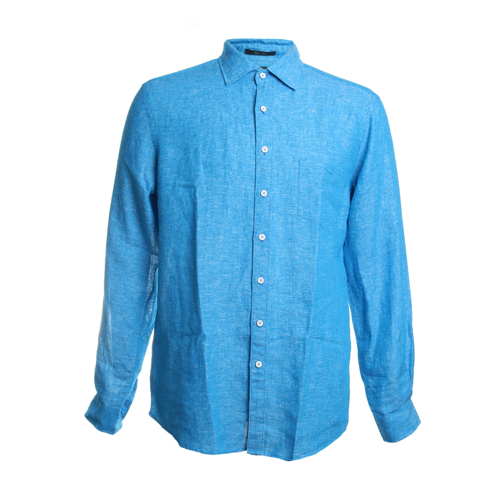 Eastern Bay Linen Button Down Shirt