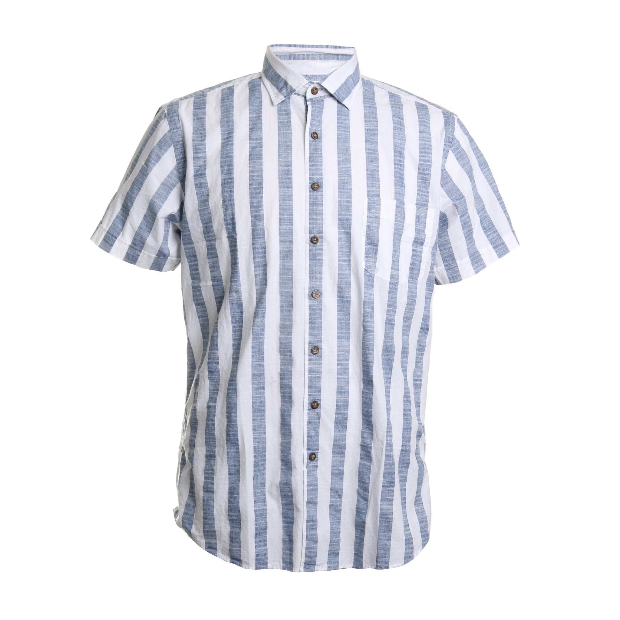 Fireshaw Cotton Striped Button Down