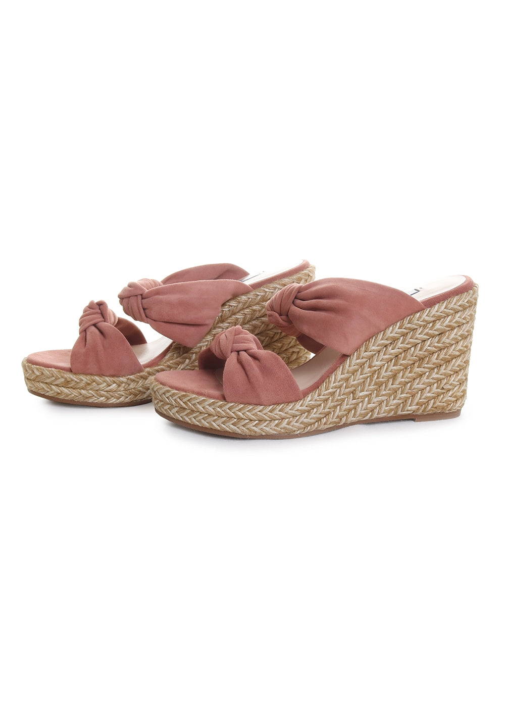Sarina Espadrille Wedge Slide Sandals