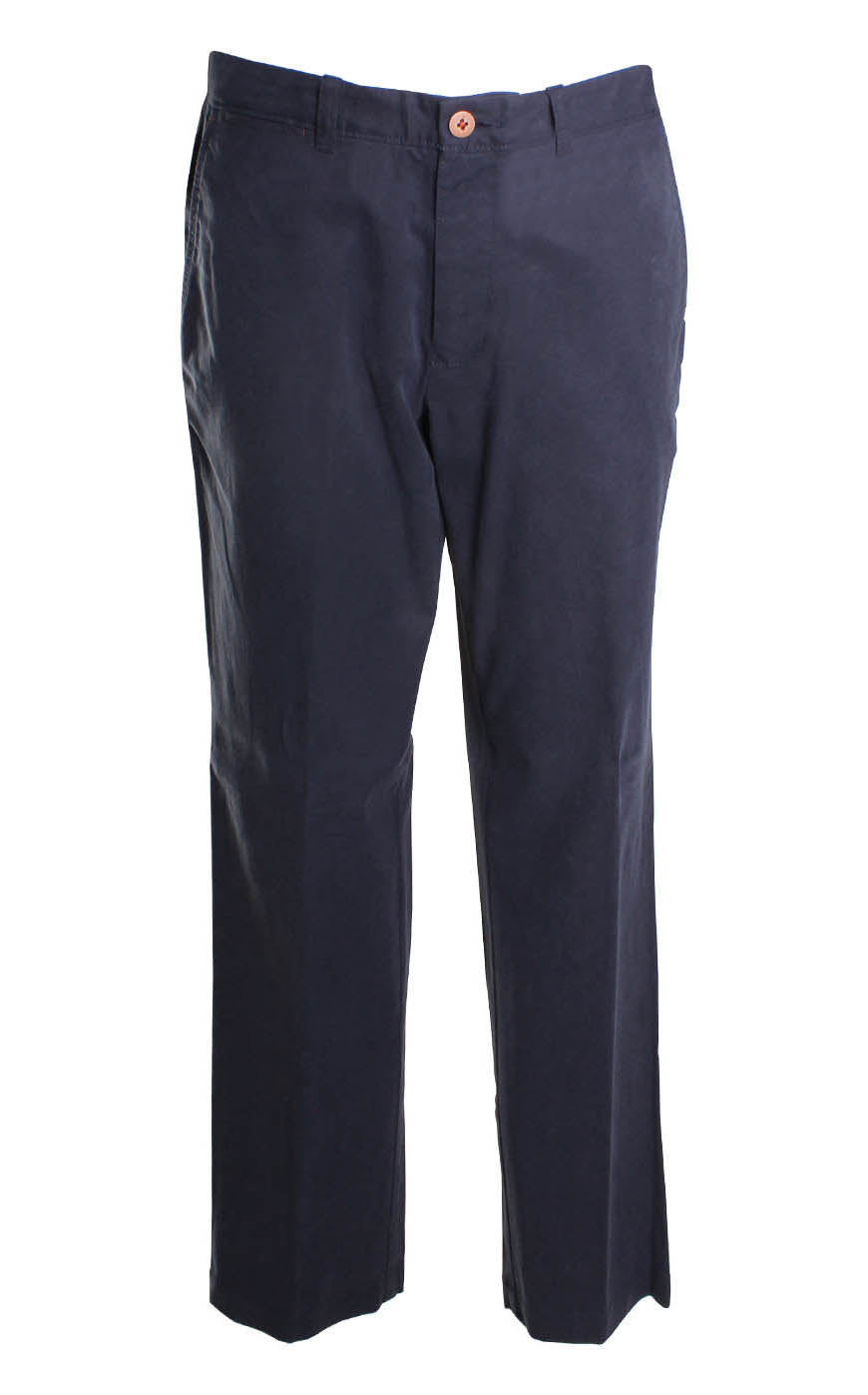 Tommy Bahama Bryant Flat Front Pant in Ink