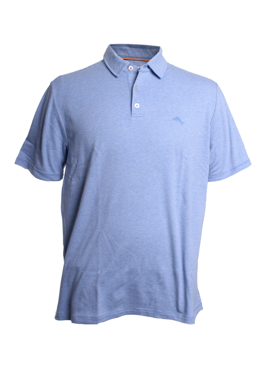 Pacific Shore Cotton Striped Polo