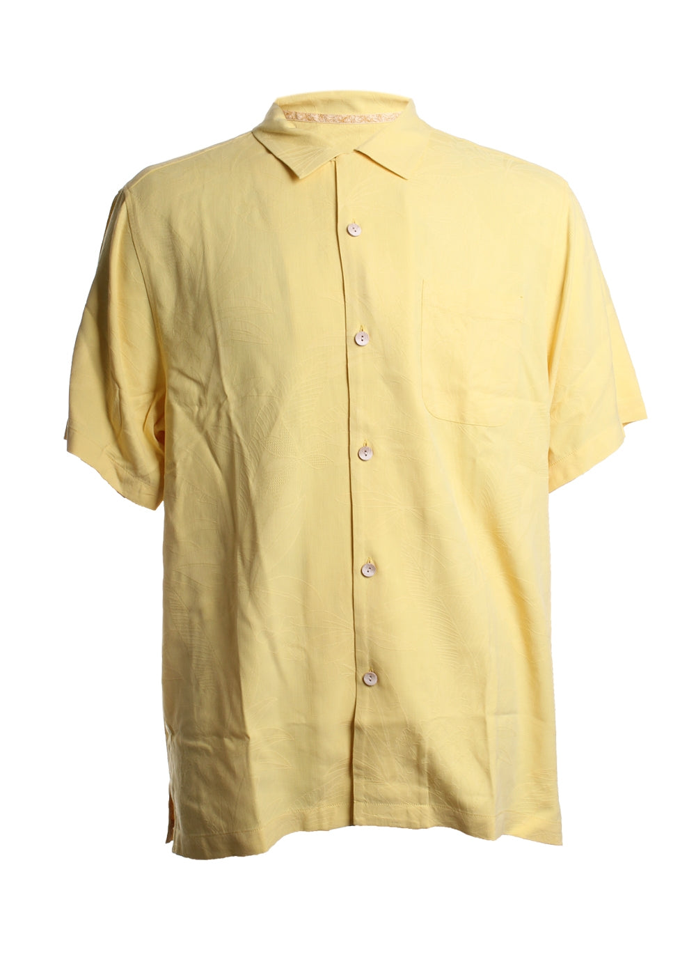 Al Fresco Tropics Silk Button Down Shirt
