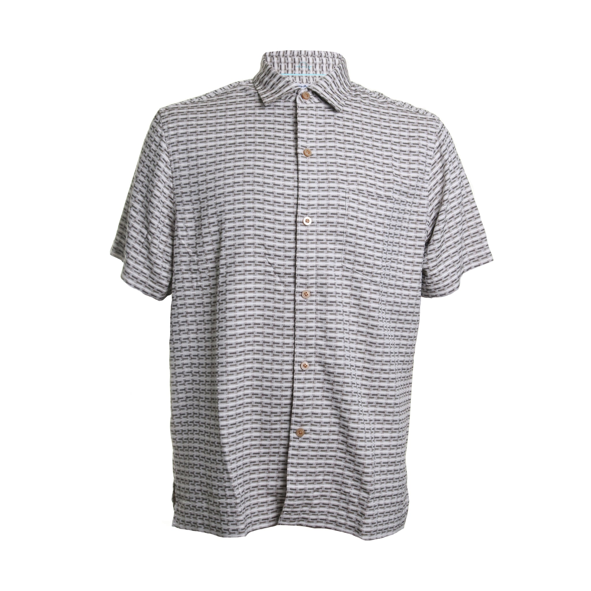 Geovanni Geo Silk Printed Button Down
