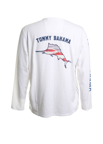 Independence Marlin Lux Cotton Long Sleeve Crew Neck Tee