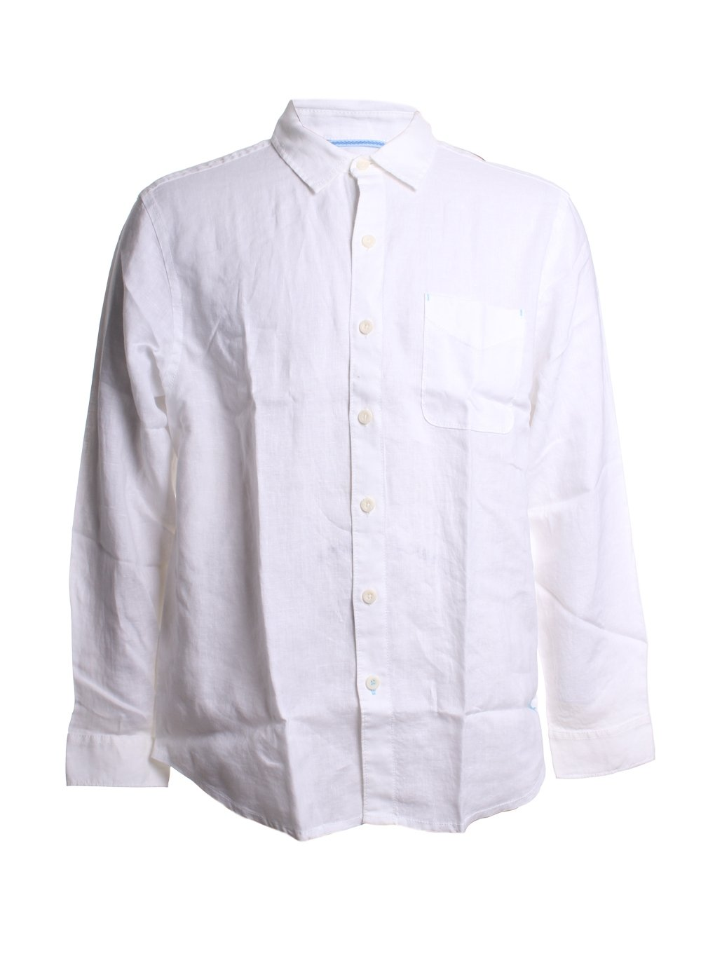 Sea Glass Breezer Linen Button Down