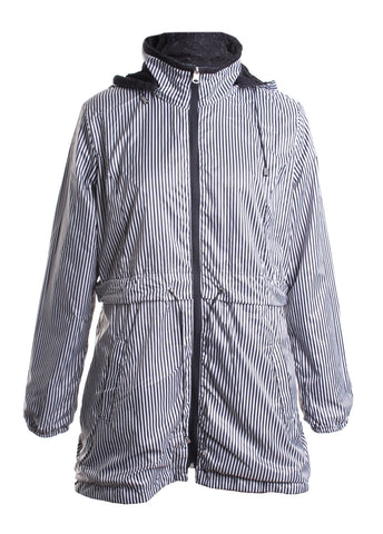 Reversible Zip Up Rain Coat