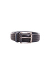 Remo Tulliani Raspail Leather Belt in Navy