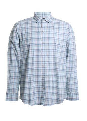 Anthony Cotton Plaid Button Down Shirt