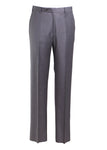 Zanella Todd Flat Front Trousers in Grey