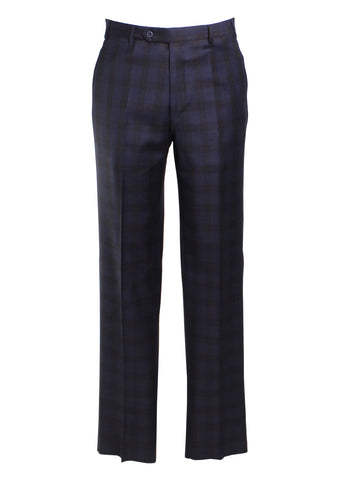 Todd Plaid Trousers